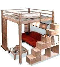 lit en hauteur avec canapé lit mezzanine clic clac inspirant lit superpose canape lit mezzanine