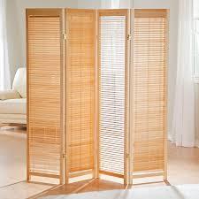 Folding Room Divider Tranquility Wooden Shutter Room Divider Industrial