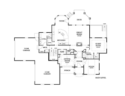 french country floor plan chateau de bordeaux by ecotecture