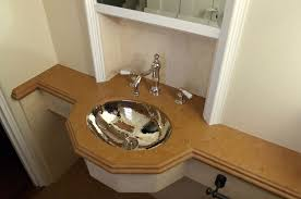 hammered nickel bathroom sink powder baths home remodeling contractor for marin