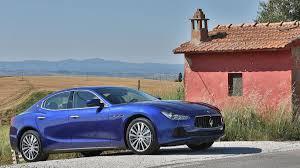 blue maserati ghibli 2014 maserati ghibli s q4 drive review autoweek