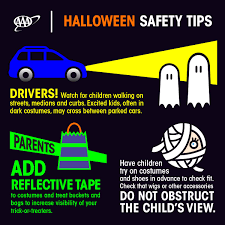 halloween safety tips aaa offers safety tips don u0027t let halloween haunt you aaa