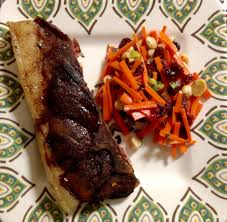 country style pork ribs and carrot slaw whole30 compliant u2013 the