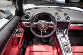 porsche boxster 2016 interior user images of porsche 718 boxster 982