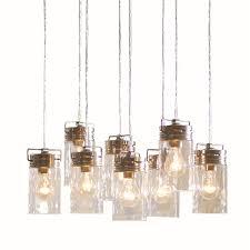 shop allen roth vallymede 8 light brushed nickel chandelier at