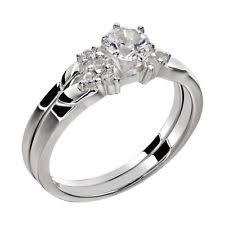 stainless steel wedding rings stainless steel wedding ring set ebay