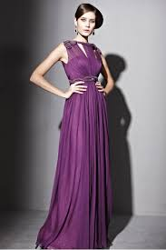couture purple level neck ball gown 2811553