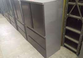 Used Metal Storage Cabinets by Teknion Metal Storage Cabinet Toronto New U0026 Used Office