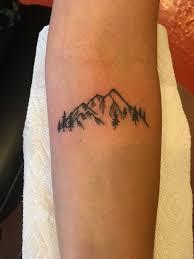 little mountains tattoo tattoos pinterest mountain tattoos
