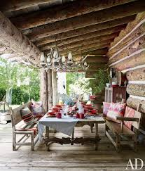 Southern Living Outdoor Spaces by Rustic Home Decor Rustic Outdoor Space By Ralph Lauren Ad