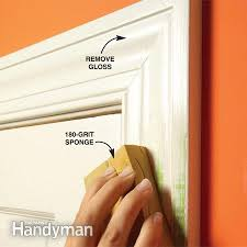 how to prepare wood trim for a smooth wood paint job