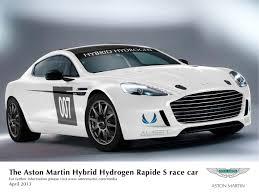 aston martin 4 door cars aston martin to race world first hybrid hydrogen rapide s