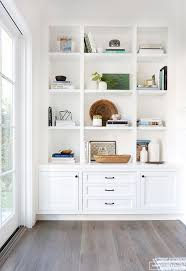 Antique White Bookcase With Doors by Best 25 White Built Ins Ideas On Pinterest Built Ins Built In