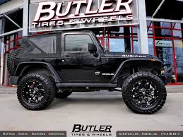 wheels for jeep jeep wrangler rubicon with 20in fuel hostage wheels a photo on