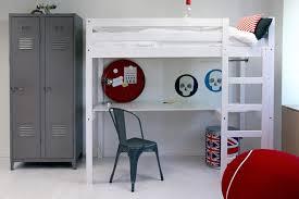 chambre fille avec lit mezzanine lit mezzanine stripy avec bureau file dans ta chambre