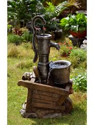 Outdoor Water Fountains With Lights Water Pump And Pot Water Fountain With Led Light Water Fountains