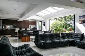 contemporary kitchen living dining space u2013 transform architects