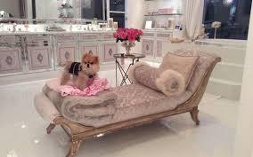 lisa vanderpump home decor former sacramento shelter dog living high life with reality star