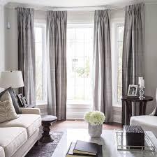 room window curtain ideas for large bay windows small window living room