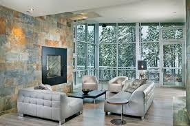 naturstein wohnzimmer natursteinwand im wohnzimmer der natürliche charme echtem stein