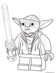 lego star wars master yoda coloring pages