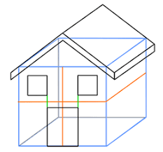 house to draw cartoon house step by step drawing lesson