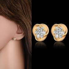 small stud earrings aliexpress buy high end aaa zircon small stud earrings
