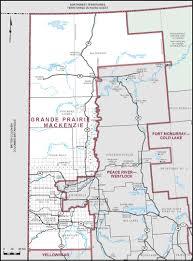 Map Alberta Canada by Grande Prairie U2013mackenzie Maps Corner Elections Canada Online