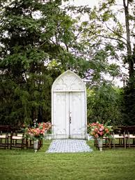 wedding arbor used wedding altar and aisle decor diy