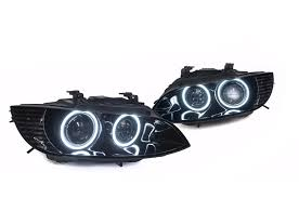 audi headlights in dark painted headlight inserts and halos group buys 350z u0026 370z uk