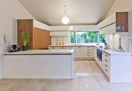modern kitchen great modern white u shaped kitchen design style