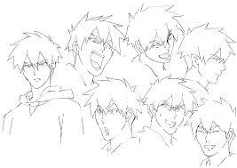 ichigo face sketch by goku8091 on deviantart