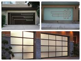 door great image modern garage doors decoration with stone wall