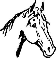 clipart horse head