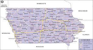 map usa iowa map of iowa state map of usa