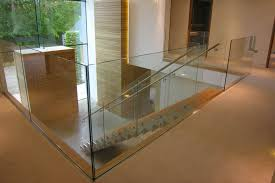 Glass Staircase Banister Glass Staircases U0026 Glass Stairs Bespoke Design And Creation