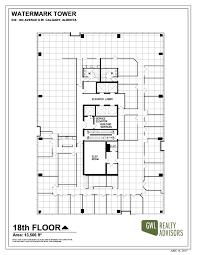 gwl realty advisors watermark tower 1800