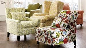 Printed Chairs Living Room by Pottery Barn U0027s Graphic Print Chairs For Fall Apartment Therapy