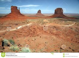 Monument Valley Utah Map by Monument Valley Desert Canyon In Utah Usa Royalty Free Stock