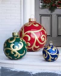 diy outdoor decorations big ornaments