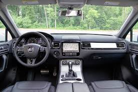 volkswagen crossblue interior 2014 volkswagen touareg reviews and rating motor trend