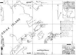 Kodiak Alaska Map by Seacoast Defense Documents
