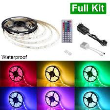 12v rgb led light kit 16 4ft 5m spool 5050 smd leds le