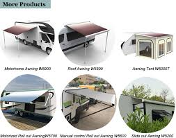 Camper Roll Out Awning European Design Truck Camper Trailer Awning Motorhome Rv Awning