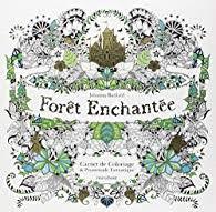 Forêt enchantée  Carnet de coloriage et Chasse au trésor antistress