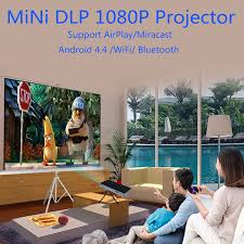 ulewell p8 laser dlp android mini full hd 1080p 3d led portable