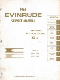 1968 evinrude ski twin 33hp service manual pdf throttle propulsion