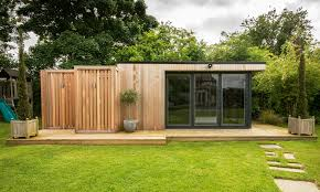 prefab office shed traditional shed by backyard buildings