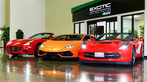 exotic car dealership enterprise now offering luxury car rentals at charlotte douglas