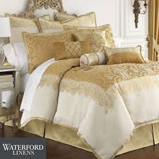 Red And Gold Damask Curtains Bedroom Comforter Sets King With Table Lamp And Gold Pillows Also